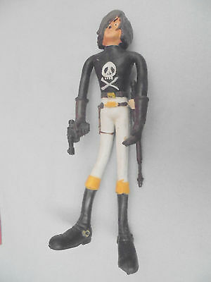 27377 CAPITAN HARLOCK (Captain) FLEXY TADASHI 1978 (Flexi) cape Rifle used 19cm