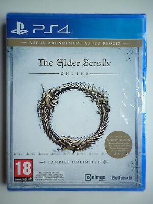 The Elder Scrolls Online Tamriel Unlimited Jeu Vidéo PS4 Playstation 4