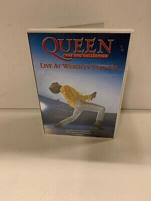 Queen The Dvd Collection Live At Wembley Stadium 2 Disc Set Freddie Mercury