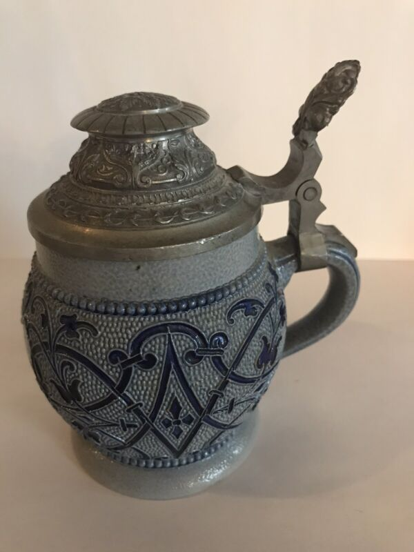 Antique German Salt Glaze Mug
