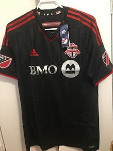 Authentic Toronto FC away jersey ( 2 mediums )