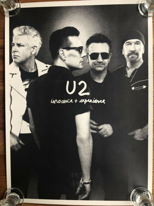 U2 Innocence and Experience Lithograph Set