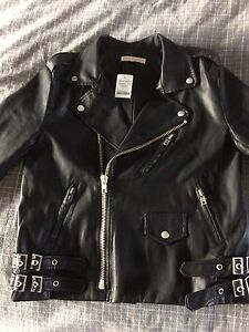 Mendicino Vegan Leather Biker Jacket Moto / Motorcycle