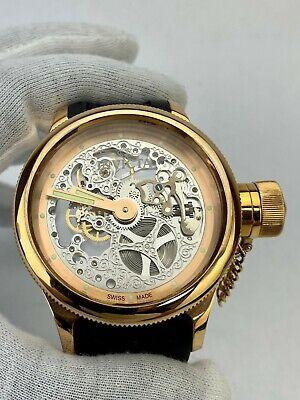 Invicta Quinotaur Russian Diver Mechanical ETA Mvmt Watch -3469