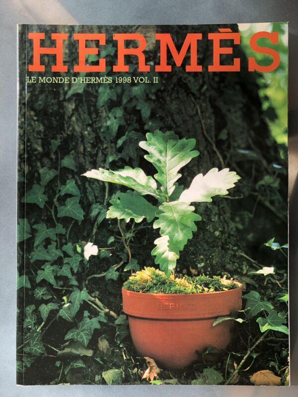 HERMES Le Mode d'Hermes 1998 Vol II The World of Hermes Magazine Catalog