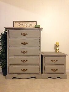 Don't miss-Solid wood, shabby chic, bedroom set - Free delivery