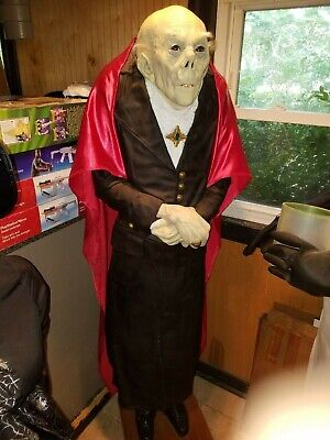 Life Size Halloween Butler (vampire butler greeter life sized lifesize halloween prop vintage amazing)