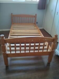 Bunk Bed-2 single beds with ladder
