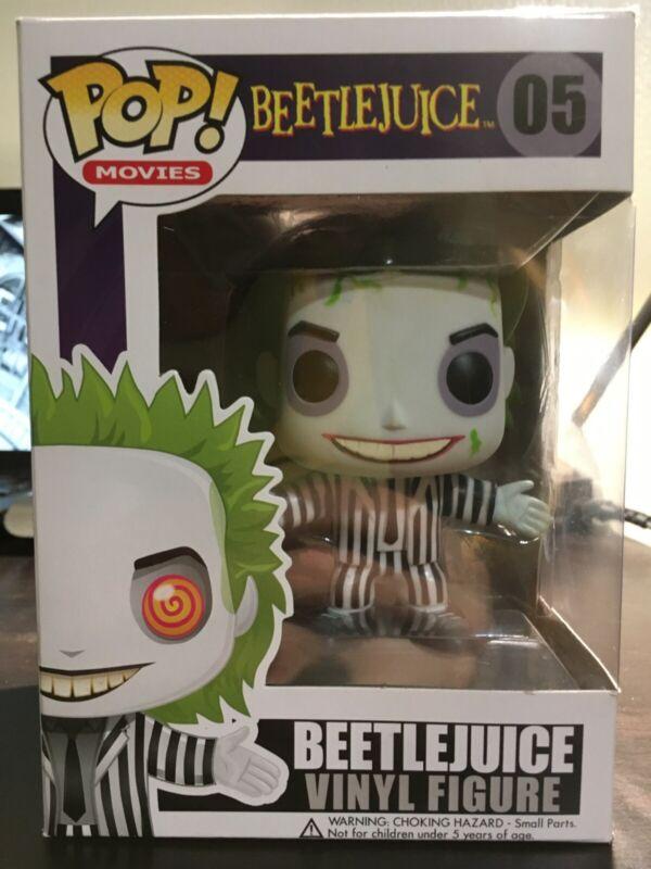 2X Cult Movie Beetlejuice The Mask Mini Figure