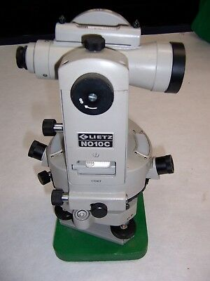 Lietz Sokkisha No 1oc Transit Theodolite With Case And Tripod 17067