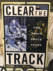 Eddie Shack - Clear the Track (autographed) (c) 1997