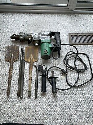 Hitachi Dh38ye Rotary Hammerchipping Hammer And Attachments