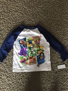 Boys XS (4) Toy Story Long Sleeve Shirt (Tags still attached)