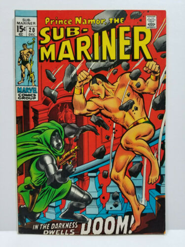 Sub-Mariner # 20 (Marvel 1969)