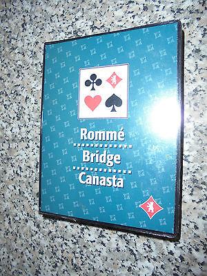 Kartenspiel Romme Canasta Bridge 2 x 55 Karten