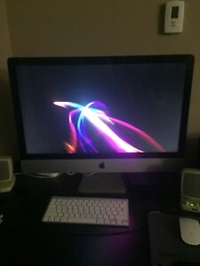 "27"" iMac with i7 and 12 GB RAM"
