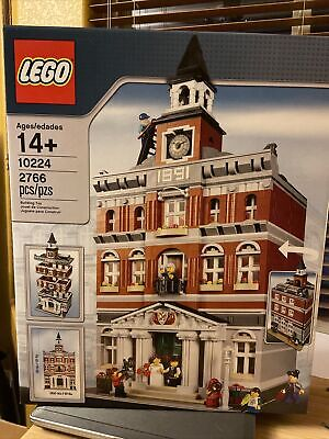 LEGO® Creator Town Hall #10224 (RETIRED) Vintage NIB Sealed. Condition is New.