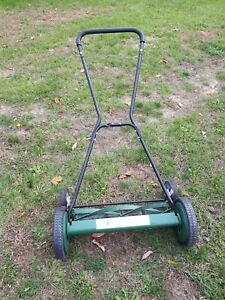 Lee Valley manual rotary push mower