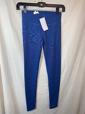 Nwt (Sm Defect)Blue Fabletics Salar Leggings Size XXS *