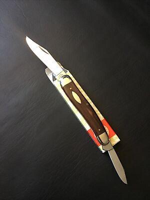 Vintage Robi Klaas Solingen Germany Rostfrei Folding Pocket Knife Kissing Crane