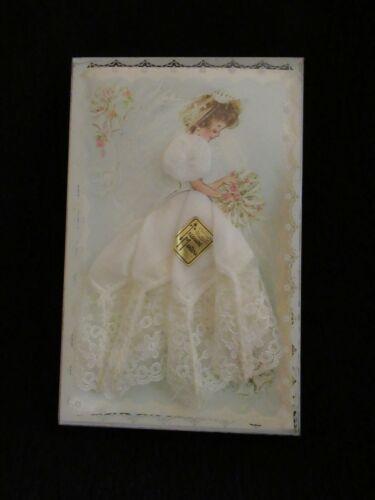 Vintage Bride Lace Handkerchief Treasure Masters Made in Japan Mint Unopened Box