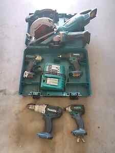 Makita 8 pc 18v cordless kit Springfield Lakes Ipswich City Preview