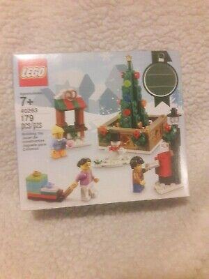 LEGO Christmas Town Square (40263) Retired HTF NIB Sealed Set
