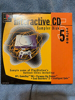 Sony Playstation PS1 Interactive CD Sampler Disc Volume 5