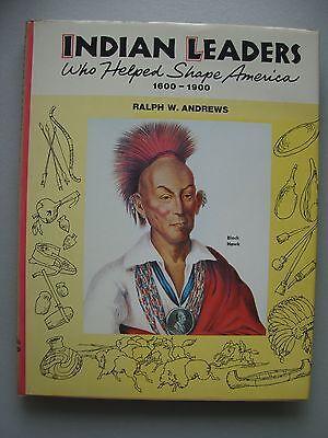 Indian Leaders who Helped Shape America 1600-1900 Indianerhäuptlinge Indianer