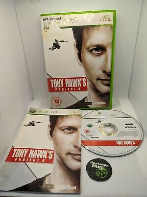 Xbox 360: Tony Hawk's Project 8