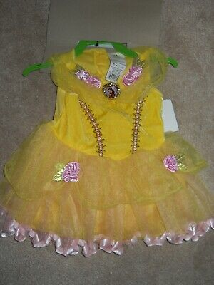 Baby Beast Costume (Disney Baby Beauty and The Beast Belle Halloween Costume Dress Size)