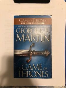 GAME OF THRONES first book in the series