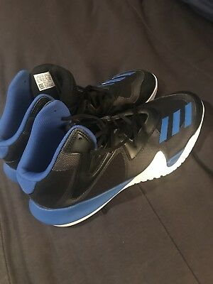 low priced 2c7e5 f1921 Adidas Crazy Team 2017 Mens Basketball Shoes BlackBlue BB8253