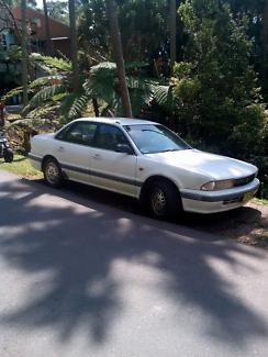 Mitsubishi magna sedan 93 model