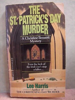 Mystery: The St. Patrick's Day Murder by Lee Harris (1994, P (Lee Patrick Harris)