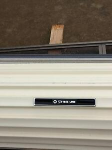 GARAGE ROLLER DOOR NEAR NEW CLASSIC CREAM One Tree Hill Playford Area Preview