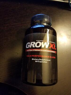 Grow XL Extra Strength Male Enhancement  60 tabs  Enhancer 60 Tabs