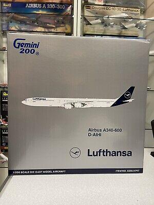 Gemini Jets 1:200 Lufthansa Airbus A340-600  D-AIHI