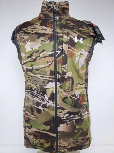 Under Armour Cold Gear Hunting Fleece Camo Vest M, L, XL 1316864 Minor Defect