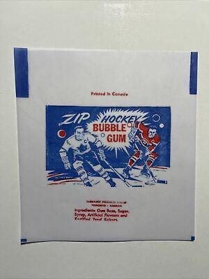 1959-60 Parkhurst Hockey Cards Wax Wrapper Print