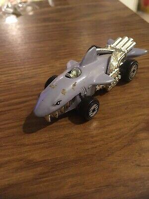 1980s Hot Wheels Mattel Shark Car, Made in Malaysia