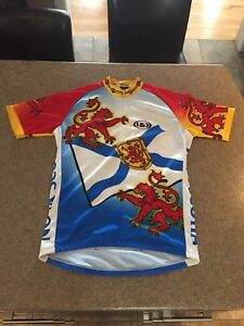 Louis Garneau Men's Team Nova Scotia Cycling Jersey, Size Large