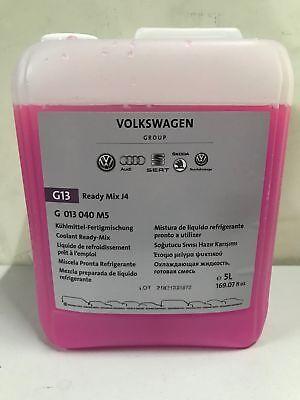 Original VW Audi Kühlmittel G13 Fertigmischung 5L Frostschutz bis -25 Grad