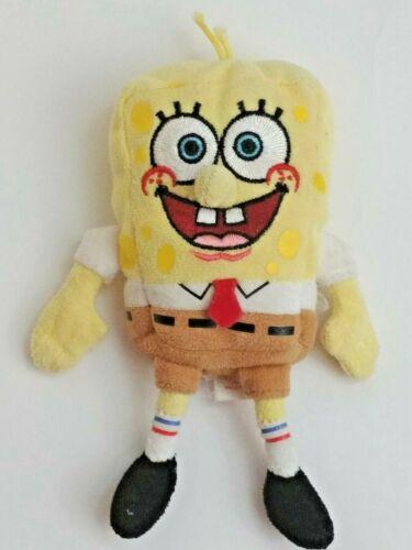 2006 Spongebob Squarepants TY Beanie Baby Beanbag Plush Doll TV Show Character