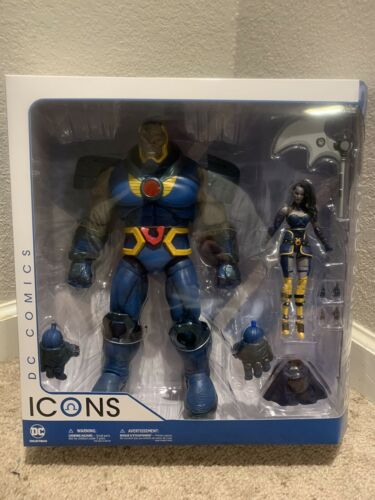 Darkseid and Grail Action Figure 2 Pack. Free Delivery