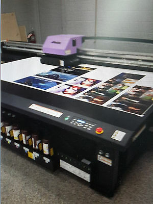 Mimaki JFX200-2513 wide format flatbed UV printer (USED- Great condition)