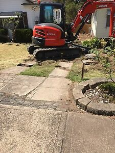 Landscaping tipper hire rubbish removal excavator hire Waverley Eastern Suburbs Preview