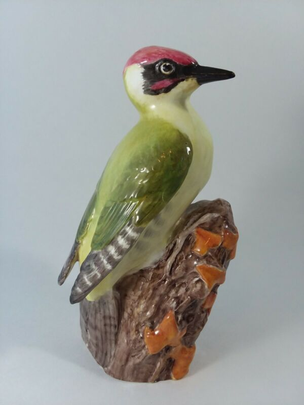Royal Worcester WOODPECKER 3249 Bone China England 6 3/4""