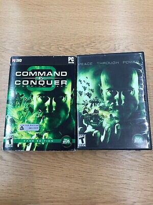 Command & Conquer 3 Tiberium Wars Kane Edition - One Disc Has Slight