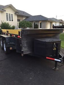 5 ton hydraulic dump trailer for rent or hire